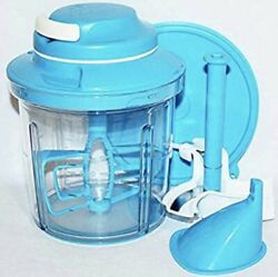 Tupperware Power Chef System 5 3/4 Cup 1238 Manual Food Processor,sauces,mayo+