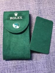 Genuine New style❗️Rolex service Velvet travel Pocket Pouch. W ⌚️support plate $28.00