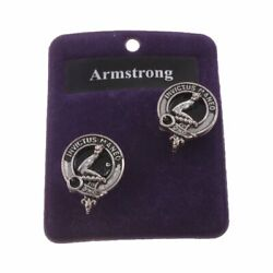 Clans Of Scotland Scottish Traditional Pewter Scots Clan Cufflinks Various Names