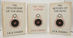 J.r.r. Tolkien, The Lord Of The Rings, First Edition, 1961/62 Set Imp 11, 9, 9