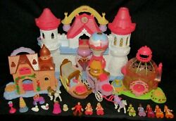 Huge Fisher Price Imaginext Precious Places Lot - Fully Functional Swan Palace