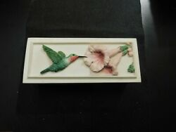 Ibis And Orchid Design, Inc Hummingbird And Flowers Trinket Box  E1120uxx