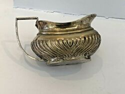 Vintage Silver Plate Queen Anne Style Dainty Milk Cream Jug Used Worn And Loved