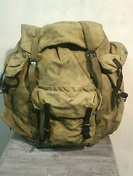 Rus Army Backpack Abalakov 65l Spn Spetsnaz Canvas Afghan War By Dinamo 1960-s