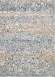 11' 6 X 15' 6 Loloi Rug Pandora Blue Gold 100 Polyester Power Loomed