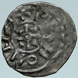 1046-1060 Hungary Medieval Silver Coin Of King Andrew Catholic Denar Coin I88203