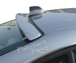 2001-2006 Bmw E46 Coupe Upper Rear Window Spolier And Shark Fin Painted 354