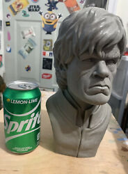 Game Of Thrones Tyrion Lannister Garage Kit Model Bust- Unpainted