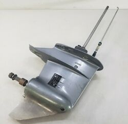 """6l2-45300-03-4d Yamaha 2004 And Up 15"""" Lower Unit 25 Hp 2 Cylinder 2-stroke As-i"""