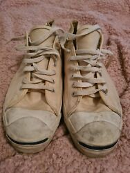 Vintage Converse Jack Purcell Canvas Sneakers Early 70s Size 13m