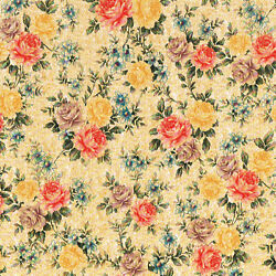 Antique Roses Flower Floral Vinyl Self Adhesive Wall Contact Paper Peel Stick