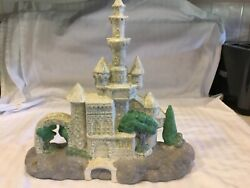 Vintage Sand Castle Sculpture 13andrdquo Tall Home Decor Paperweight Wedding