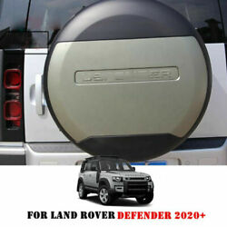 Plastic Spare Tyre Tire Cover Fits Land Rover Defender 2020 2021 Pangea Green