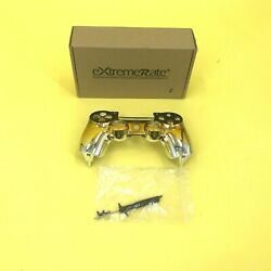 Extremerate Tri-color Gradients Faceplate Cover Chrome Black Gold 4115 Z52 B17