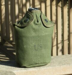 Us Army Military Vietnam Dsa-1966 M-1956 Canteen Cover Field Gear Minty