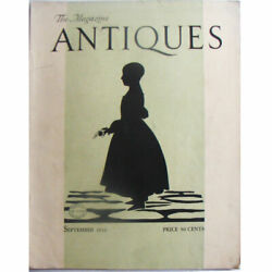 The Magazine Antiques September 1933, Art, Furniture, China, See Desc For Index
