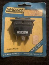 Rocker Switch Seachoice 1244 On/off/on Lighted Boating Boat Parts