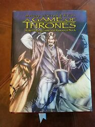 Game Of Thrones Deluxe Edition Rpg Book Sourcebook Rare 693 Of 2500