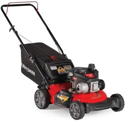 Craftsman M105 140cc 21-inch 3-in-1 Gas Powered Push Lawn Mower With Bagger,...