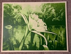 Spider Lily   Obey Giant Shepard Fairey 2009 Art Print Poster