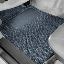 For Ford 1/2 Ton Pickup 35-39 Sisal Auto Mat Carpeted 1st Row Blue Floor Mats