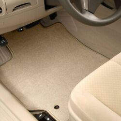 For Mercedes-benz E500 10-16 Carpeted 1st And 2nd Row Beige Floor Mats