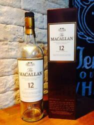 12 Years With Box - Macallan Empty Bottle Scotch Whiskey From Japan 27