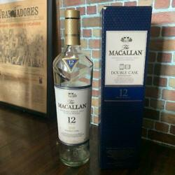 Double Casque With Box 12 Years - Macallan Empty Bottle Scotch Whiskey 28