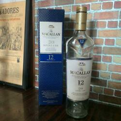 Double Casque 12 Years With Box - Macallan Empty Bottle Scotch Whiskey 30