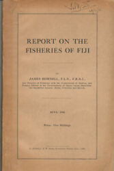 James Hornell / Report On The Fisheries Of Fiji 1940