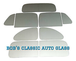 1936 Chevrolet 5 Window Coupe Glass Classic Auto Glass New Vintage Chevy Flat
