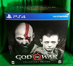 God Of War Collector's Edition W/ Statue Sony Ps4 Factory Sealed Kratos
