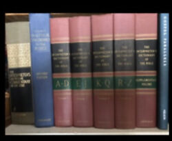 Commentary On Bible, Young's Concordance, Interpreter's Dictionaries And Parallels
