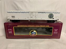 ✅mth Premier Bnsf Ice Cold Express 60' Mechanical Reefer Car O Scale Train