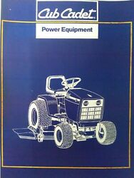 Cub Cadet Super Lawn Garden Tractor 1872 And 2072 Parts Manual Mtd Ccc 720 And 730