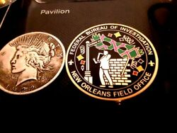 Very Rare Very Polular Fbi New Orleans Field Office Challenge Coin