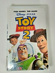 Toy Story 2 Vhs 2000 Factory Sealed New Free Shipping