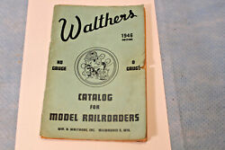 1946 Walthers Ho And O Gauge Consumer Catalog