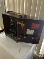 Vintage Keuffel And Esser Transit With Box, Tripod, And Rod