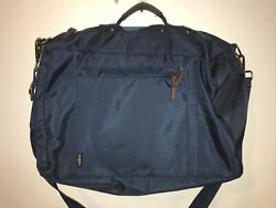 Goodfellow 3 in 1 Convertible Messenger Backpack Duffel Laptop Bag Blue Used $9.99