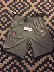 Nike Nba Player Issued Detroit Pistons Practice Shorts Small