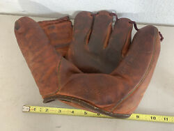 1950and039s Mickey Mantle Model Franklin F125 Baseball Glove Collectible Vintage Rare