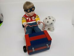 Vintage Danbury Mint Doll-a Team To Beat-elke Hutchens With Box