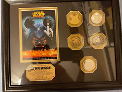 Disney Star Wars Weekends Coin Set 2005 Limited Edition