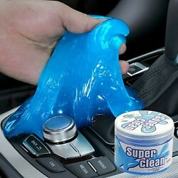 Car Cleaning Gel Putty Universal Cleaning Mud for Car Interior 160g Blue