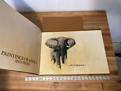 David Shepherd Paintings Of Africa And India 1978 Signed Limited Edition 175/506