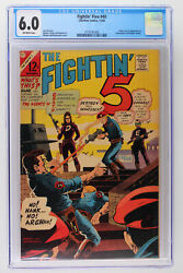 Fightinand039 Five 40 - Charlton 1966 Cgc 6.0 Origin And 1st App Of Peacemaker