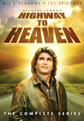 Highway To Heaven The Complete Series Dvd 2014 23-disc Set In Stock