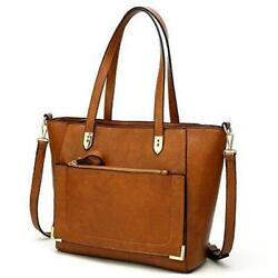 Satchel Purses and Handbags for Women Shoulder Tote Bags 1 abrown $29.35