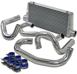Fmic Front Mount Intercooler Kit And Charge Pipes For Impreza Wrx Gc8 Jdm Sti 2.0l